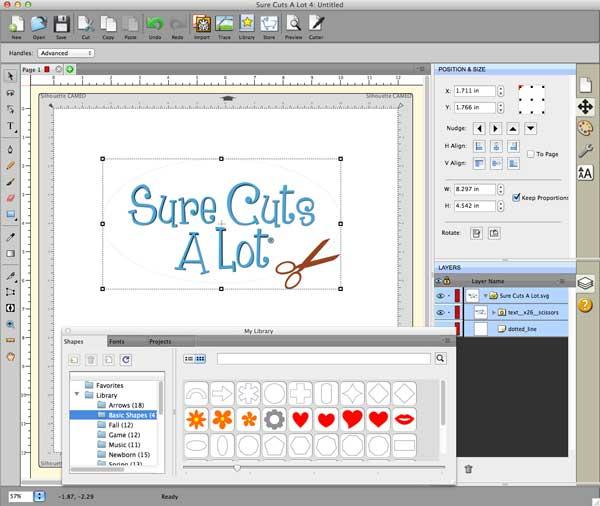 Sure Cuts A Lot Pro Design And Cut Software Free